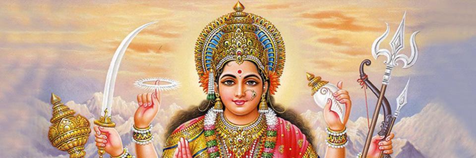 Mata Durga: de grote Moeder Godin
