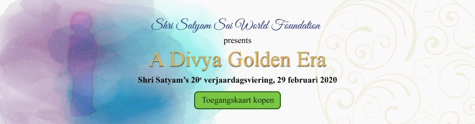 20e verjaardagsviering van Shri Satyam
